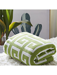 cheap -Super Soft,Yarn Dyed Pattern Poly/Cotton Blankets