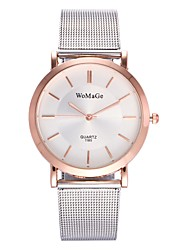 cheap -Women's Fashion Watch Dress Watch Wrist watch Chinese Quartz Alloy Metal Band Luxury Casual Silver