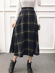 preiswerte -Damen Schick & Modern Rock Röcke - Einfarbig