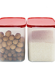 1pc Кухня Пластик Хранение продуктов питания