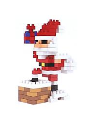 Недорогие -Конструкторы Игрушки Новогодняя тематика Костюмы Санта Клауса Праздник Люди Дед Мороз Взрослые 155 Куски