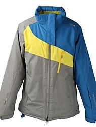 cheap -Men's Ski Jacket Warm Waterproof Windproof Wearable Breathability Lightweight Skiing Ski/Snowboarding Winter Sports Cotton Polyster