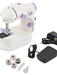 cheap -Mini Electric Handheld Sewing Machine Dual Speed Adjustment with Light Foot Double Threads Sewing Machine