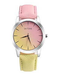 Women's Kid's Casual Watch Fashion Watch Unique Creative Watch Chinese Quartz Chronograph Water Resistant / Water Proof Leather Band