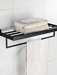 cheap -Bathroom Shelf Traditional/Vintage Stainless Steel Wall Mounted
