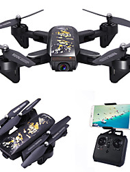 cheap -RC Drone DM107S 4CH 6 Axis 2.4G With 2.0MP HD Camera RC Quadcopter Wide-Angle Camera Height Holding WIFI FPV LED Lighting One Key To