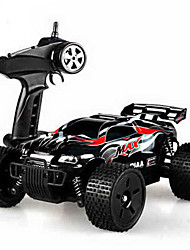 abordables -Coche de radiocontrol  HQ-747 4 Canales 2.4G Off Road Car 1:18 Brush Eléctrico 45 KM / H