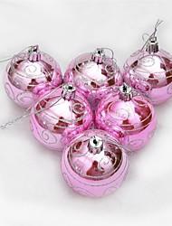 abordables -Décorations de Noël Articles pour Célébrer Noël Décorations d'arbre de noël Sapins de Noël Jouets Sphère Vacances Romance Fantastique