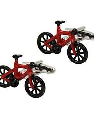 Недорогие -Велоспорт Красный Запонки Медь Стиль Подарок Офис и карьера Муж. Бижутерия