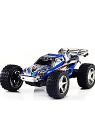 abordables -Coche de radiocontrol  WL Toys 2019 2.4G Off Road Car Alta Velocidad 4WD Drift Car Buggy Todoterreno * KM / H Velocidades variables
