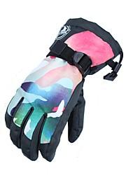 cheap -Ski Gloves Men's Full-finger Gloves Keep Warm Waterproof Windproof Nylon fiber Ski / Snowboard Hiking Bike/Cycling Winter