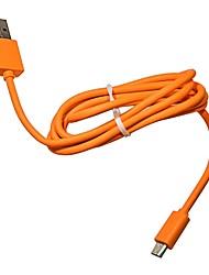 Недорогие -Micro USB Адаптер USB-кабеля Быстрая зарядка Кабель Назначение Xiaomi 100 cm Натуральная резина Медный провод