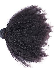 Недорогие -Монгольские волосы Необработанные Ткет человеческих волос 1шт Человека ткет Волосы
