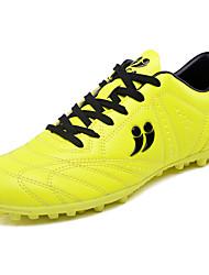 Masculino sapatos Borracha Primavera Verão Conforto Tênis Futebol para Amarelo Vermelho Azul