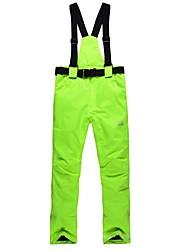 economico -Pantaloni da sci Unisex Sci Sport da neve Caldo Antivento Snowboard Poliestere Misto cotone Pantaloni da sci