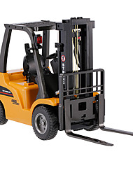 cheap -RC Car HUINA 1577 8 Channel 2.4G Forklift Construction Truck 1:10 KM/H Remote Control Rechargeable Electric