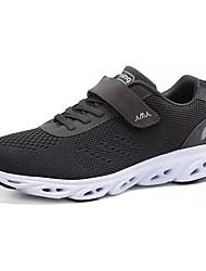 economico -Per uomo Scarpe Maglia traspirante Primavera Autunno Comoda scarpe da ginnastica Footing per Sportivo Nero Blu scuro Grigio scuro