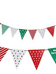 abordables -Décorations de Noël Drapeaux de Noël Articles pour Célébrer Noël Jouets Vacances Costume de père noël Enfant Adulte Pièces