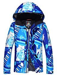 abordables -Homme Veste de Ski Chaud, Etanche, Pare-vent Ski Ecologique Polyester Veste d'Hiver Tenue de Ski