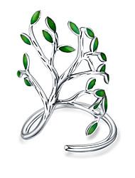 Жен. Классические кольца С цветами Простой На каждый день Мода Подарок Серебрянное покрытие Бижутерия Назначение Свадьба Повседневные Для