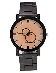 Hombre Mujer Reloj de Pulsera Reloj de Moda Chino Cuarzo Aleación Banda Negro