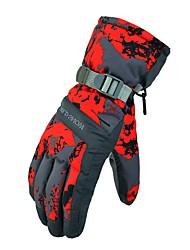 abordables -Guantes de esquí Hombre Dedos completos Mantiene abrigado Nailon Senderismo Ejercicio al Aire Libre Ciclismo / Bicicleta Deportes de Nieve