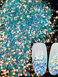 søm glitter havfrue pailletter 0,003kg / kasse
