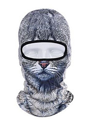 cheap -Balaclava All Seasons Moisture Wicking Soft Sunscreen Breathability Motor Bike Bike/Cycling Unisex Polyester Taffeta Animal