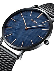 cheap -BIDEN Men's Wrist watch Fashion Watch Casual Watch Japanese Quartz Water Resistant / Water Proof Stainless Steel Band Luxury Casual