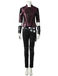 economico -Costumi da supereroi Cosplay Costumi Cosplay Costume Cosplay da film Grigio e nero Top Pantaloni Cintura Altri accessori Halloween