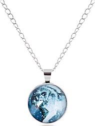 cheap -Men's / Women's Pendant Necklace - Animal, Wolf Classic, Vintage, Basic Silver, Bronze Necklace One-piece Suit For Wedding, Graduation