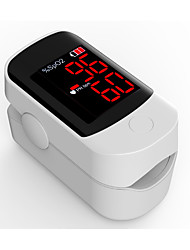 Accurate FS10D LED Fingertip Pulse Oximeter Oximetry Blood Oxygen Saturation Monitor with batteries