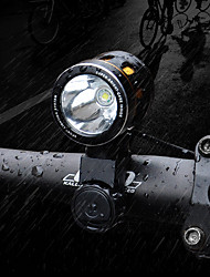 Front Bike Light LED XM-L2 T6 Cycling Professional Waterproof Lithium Battery 1000 Lumens Rechargeable Battery White