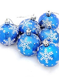 cheap -Christmas Decorations Christmas Party Supplies Christmas Tree Ornaments Christmas Trees Toys Christmas Sphere Snowflake Holiday Fantacy