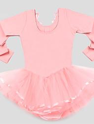 economico -Abbigliamento da ballo per bambini Per bambini Addestramento 100% cotone Tulle Maniche lunghe