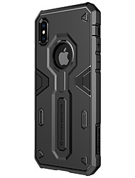 cheap -Case For Apple iPhone X iPhone X Shockproof Back Cover Armor Hard PC for iPhone X