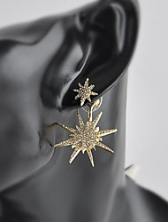 cheap -Women's Stud Earrings Rhinestone Simple Fashion Alloy Star Jewelry For Wedding Party