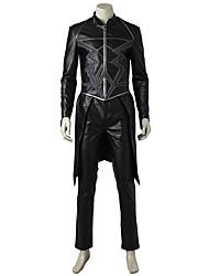economico -Costumi da supereroi Costumi Cosplay Costume Cosplay da film Grigio e nero Top Pantaloni Halloween Carnevale Oktoberfest Mascherata Pelle