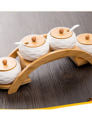 cheap -1set Kitchen Ceramic Cabinet Accessories