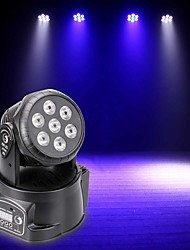 cheap -U'King LED Stage Light / Spot Light DMX 512 Master-Slave Sound-Activated Auto 70 for Wedding Club Outdoor Party Stage Professional High