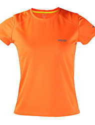 cheap -Arsuxeo Women's Running T-Shirt Short Sleeves Quick Dry Antistatic Breathable Reflective Strips Limits Bacteria Static-free Lightweight