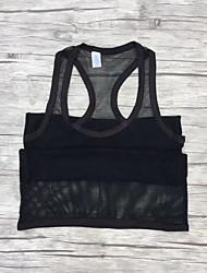 economico -Serbatoio nero puro da uomo sexy abbigliamento intimo solido morbido
