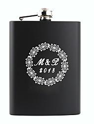 abordables -Non personnalisé Matière Acier inoxydable Autres Materiel de bar & Flasques ballon Flasque Marié Groom Parents Bébés & Enfants Soirée