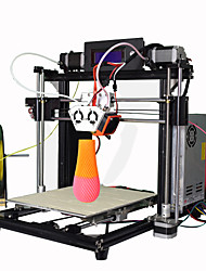 Athorbot couple m10 2-en-1 double extrudeur mélangé couleur double couleur 3d imprimante prusa i3 diy kit bâtiment volumn 190x270x200mm