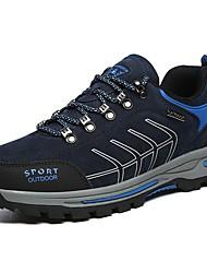 Недорогие -Муж. Замша Весна Удобная обувь Спортивная обувь Для пешеходного туризма Черный / Темно-синий / Темно-серый