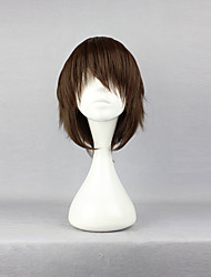 cheap -Cosplay Wigs Blue Exorcist Yukio Okumura Anime Cosplay Wigs 35 CM Heat Resistant Fiber Unisex