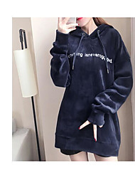 cheap -Women's Daily Hoodie Letter Others