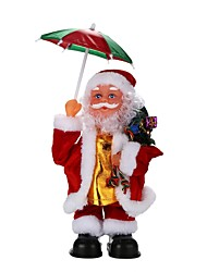 cheap -Christmas Gifts Christmas Toys Toys Santa Suits Holiday People Holiday New Design Soft Plastic Braided Fabric Children's Pieces