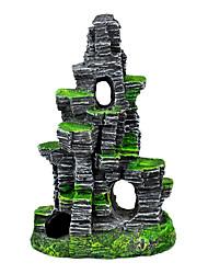 baratos -Aquário Decoração Pedras Resina