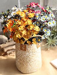 cheap -Artificial Flowers 10 Branch European Daisies Tabletop Flower